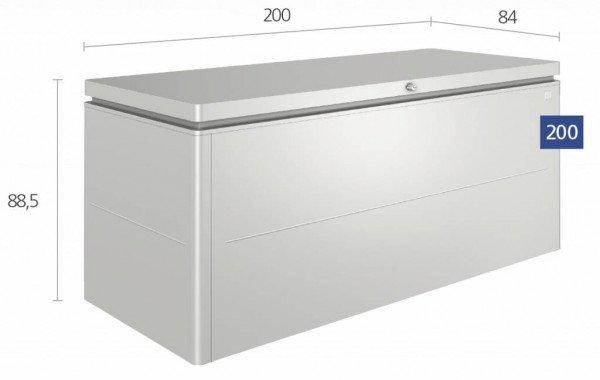 Biohort Loungebox XL 200 x 84 H: 88,5 cm