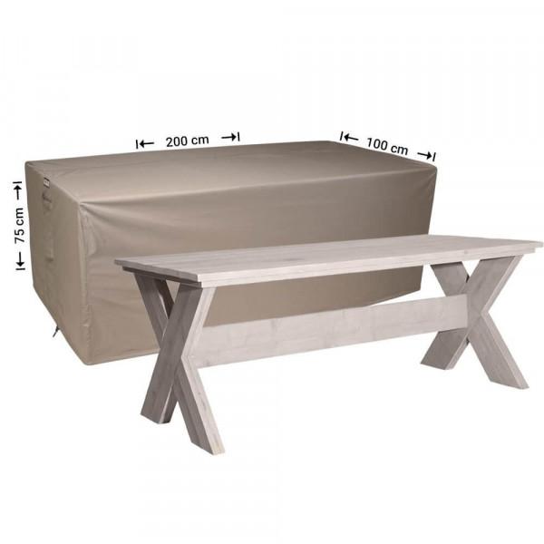 Tisch Abdeckung 200 x 100 H: 75 cm