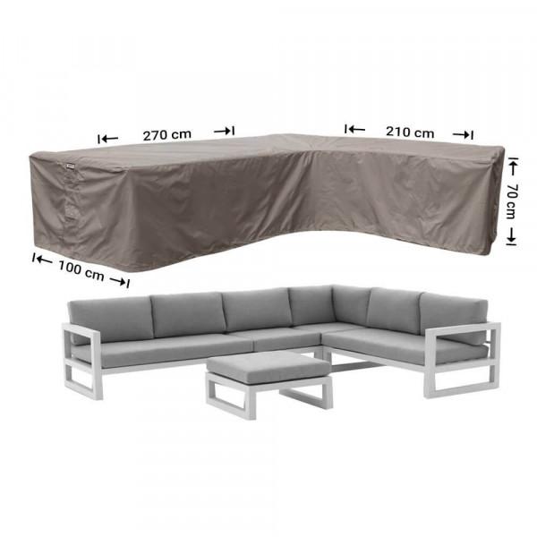 L-Form Sofa Schutzhülle 270 x 210 x 100 H: 70 cm