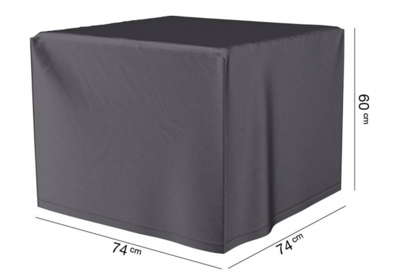 Schutzhülle für Garten Feuerstelle 74 x 74 H: 60 cm