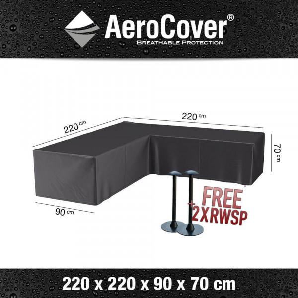 Abdeckung für Lounge-Sofa 220 x 220 x 90 H: 70 cm