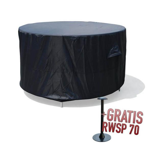 Abdeckung für runden Gartentisch mit Stühlen Ø 200 H: 85 cm