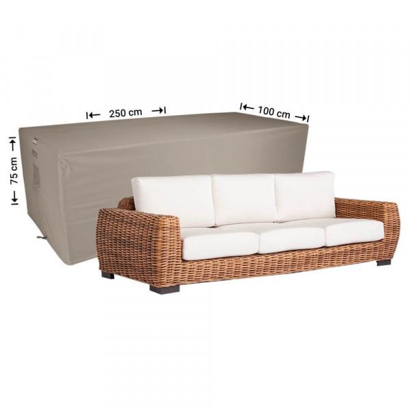 Hülle für Gartensofa 250 x 100 H: 75 cm