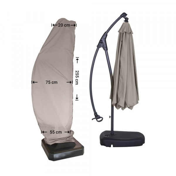 Schirmhülle Ampelschirm H: 255 cm