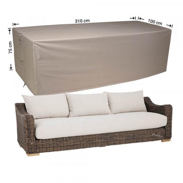 XL Abdeckung für Loungesofa 310 x 100 H: 75 cm
