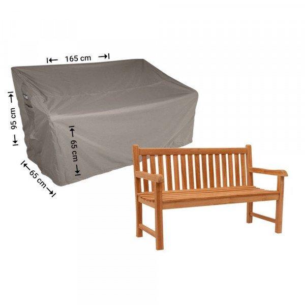 Schutzhülle für Gartenbank 165 x 65 H: 95/65 cm