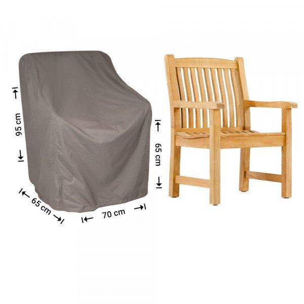 Schutzhülle für Rattan Lounge Sessel 70 x 65 H: 95/65 cm