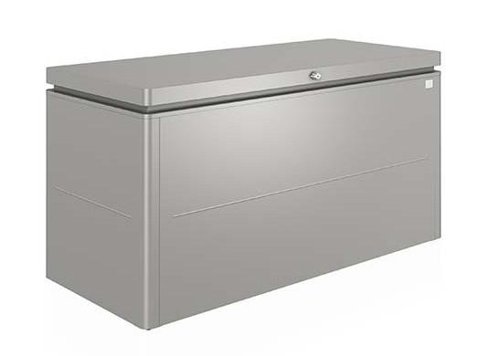 Grijze Biohort loungebox 160 x 70 H: 83,5 cm