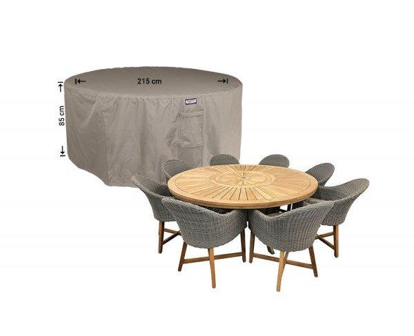 Abdeckhaube für runder Tisch mit Gartenstühle Ø 215 H: 85 cm