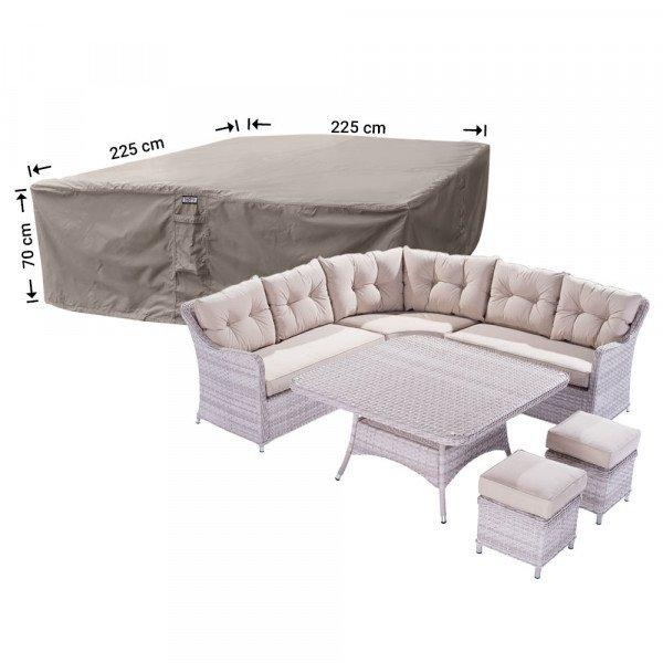 Schutzhaube für Garten-Lounge Garnitur 225 x 225 H: 70 cm