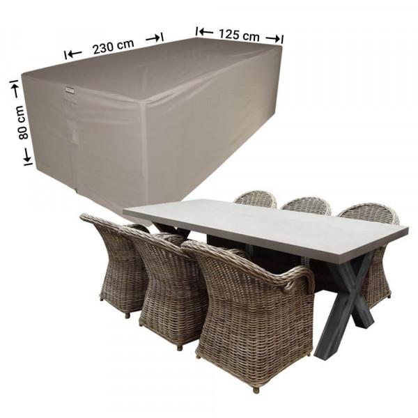 Gartenmöbel-Set Abdeckung 230 x 125 H: 80 cm