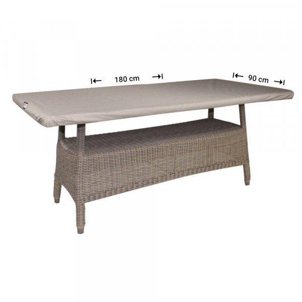 Abdeckhaube für Tischplatten 180 x 90 cm