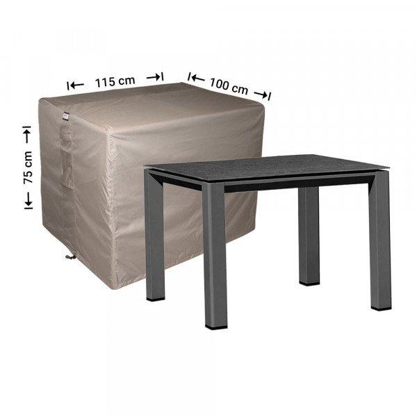 Wetterschutz für rechteckige Gartentisch 115 x 100