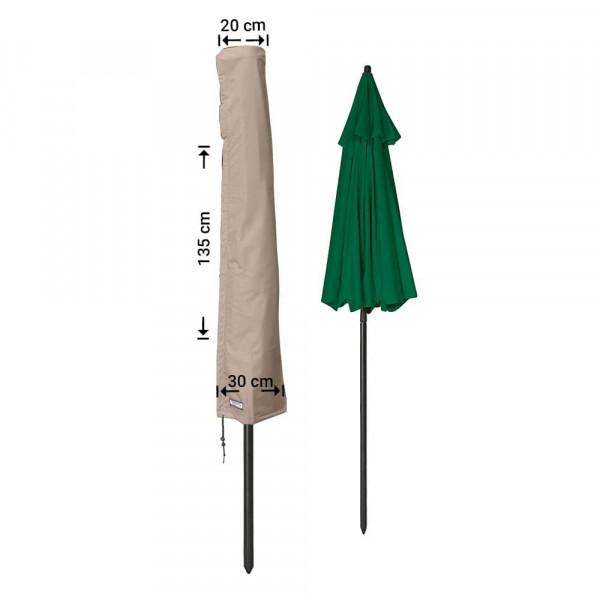 Sonnenschirmhülle mit Stab H: 135 cm