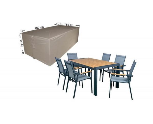 Abdeckplane für Garten-Tisch und Stühle 180 x 155 H: 90 cm