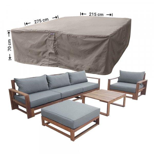 Schutzhaube für Garten-Lounge Garnitur 275 x 215 H: 70 cm