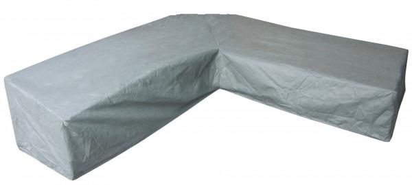 Dining-Loungemöbel Abdeckhaube für L-Form 270 x 270 H: 90/60 cm