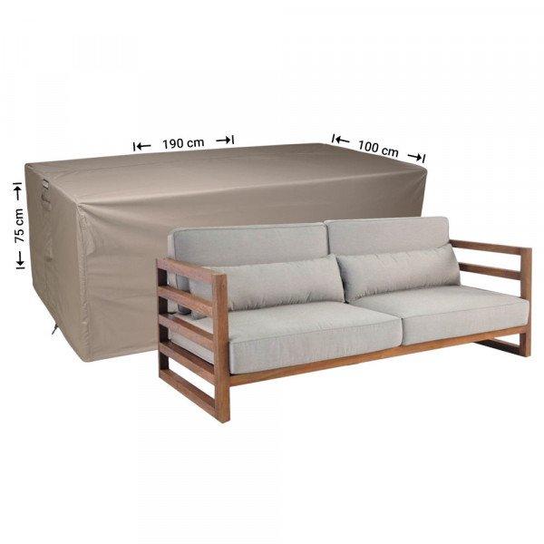 Loungesofa Abdeckung 190 x 100 H: 75 cm