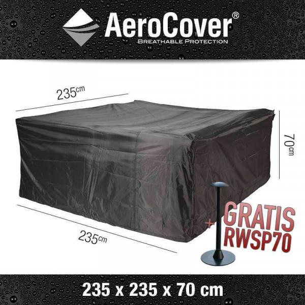 Schutzhaube für Garten-Lounge Garnitur 235 x 235 H: 70 cm