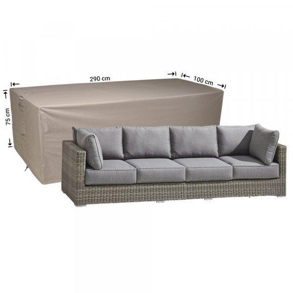 Abdeckung für 3-Sitzer-Sofabank 290 x 100 cm
