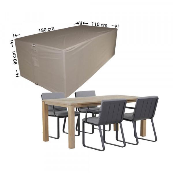 Abdeckung für rechteckige Sitzgarnituren 180 x 110 H: 80 cm