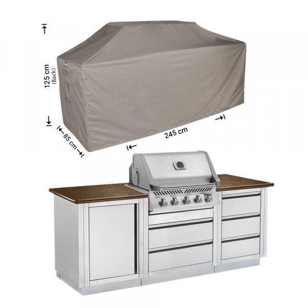 Schutzhülle Outdoor-Küchen 245 x 85 H: 125/115 cm
