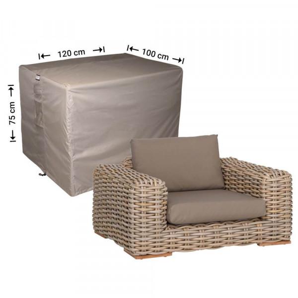 Abdeckplane für Lounge Stuhl 120 x 100 H: 75 cm