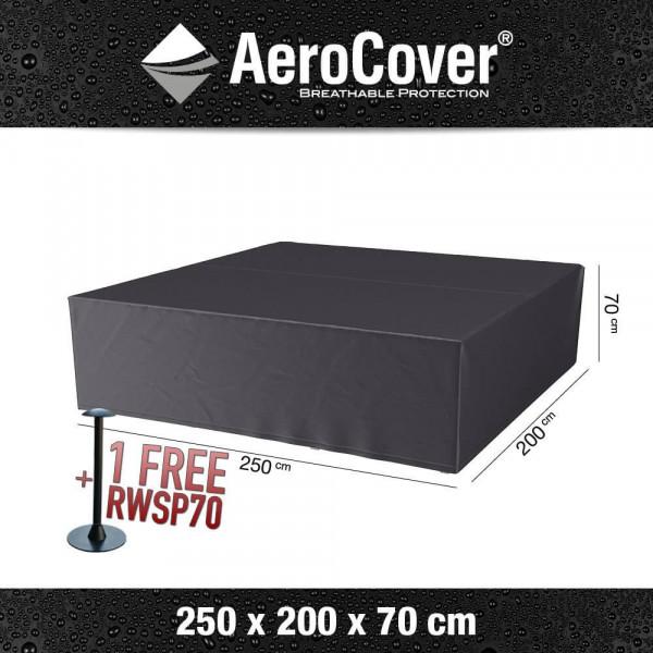 Rechteckig Abdeckung für Lounge-Set 250 x 200 H: 70 cm