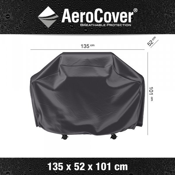 Schutzhülle Gas Grill Cover Medium 135 x 52 H: 101 cm