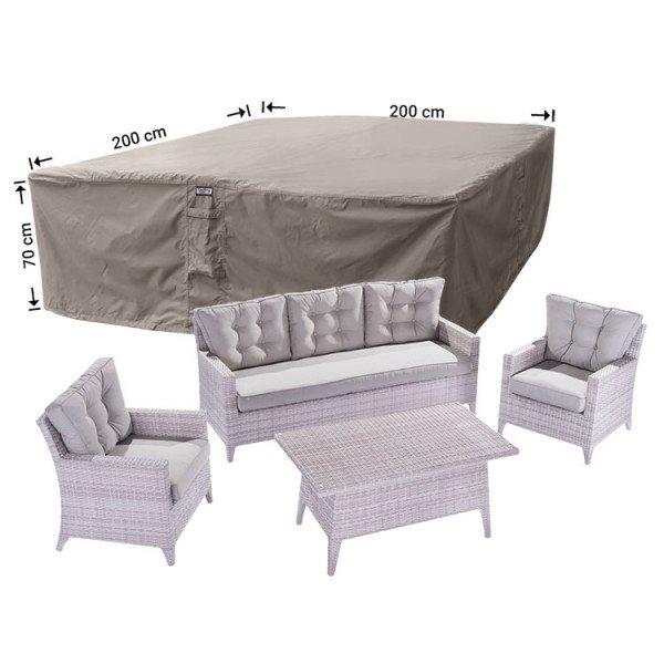 Schutzhaube für Rattan Lounge Sitzgruppe 200 x 200 H: 70 cm