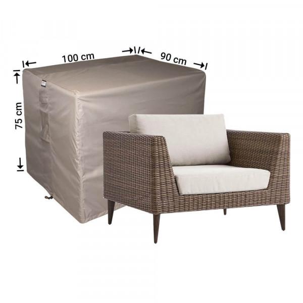 Lounge Stuhlabdeckung 100 x 90 H: 75 cm