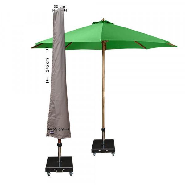 Abdeckung für Sonnenschirm H: 245 cm
