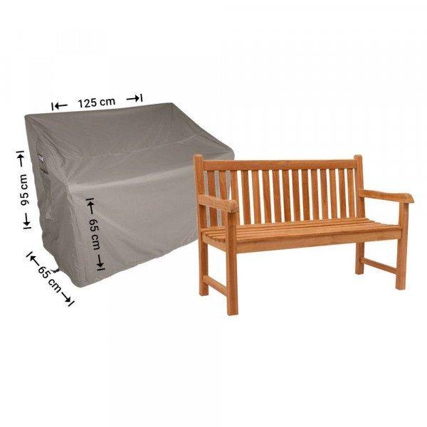 Schutzhülle für Gartenbank 125 x 65 H: 95/65 cm