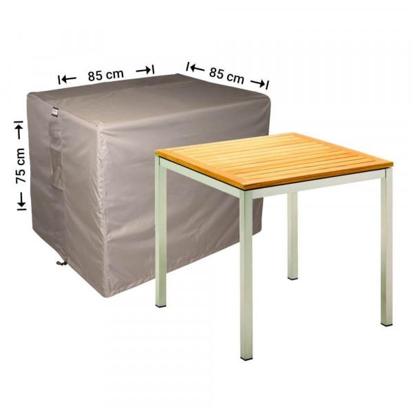 Abdeckplane für quadratische Gartentisch 85 x 85 H: 75 cm