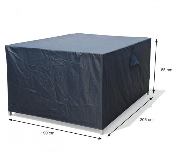 Abdeckhaube für rechteckige Möbelset 205 x 190 H:85 cm