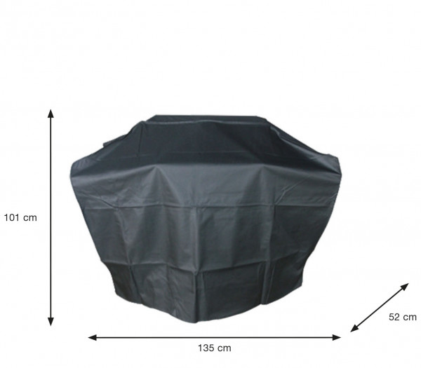 Schutzhülle für Gasgrillküche 135 x 52 H:101 cm