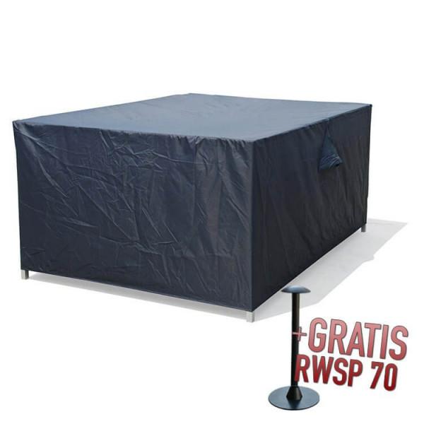 Lounge Hocker Schutzhülle 80 x 80 H:40 cm