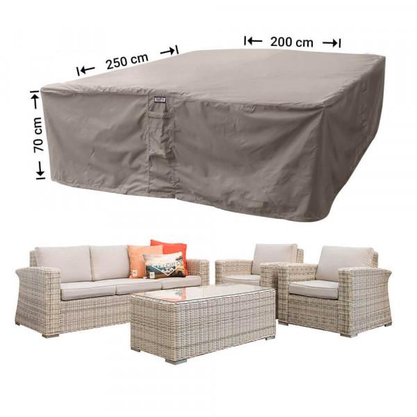 Schutzhülle für Geflecht Lounge-Möbelset 250 x 200 H: 70 cm