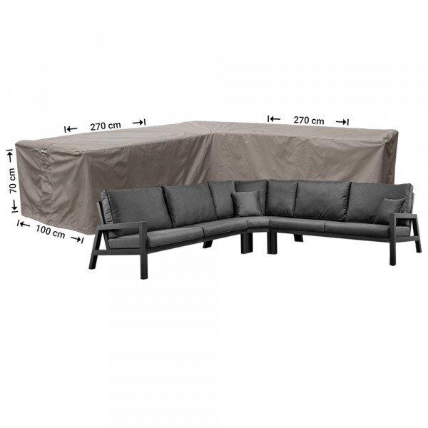 Schutzhülle für Eck-Loungegruppe 270 x 270 x 100 H: 70 cm