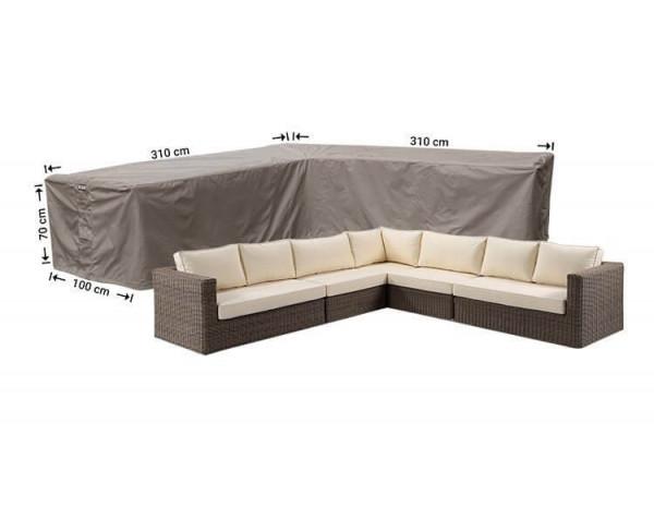Abdeckhaube für L-Förmiges Sofa 310 x 310 x 100 H: 70 cm