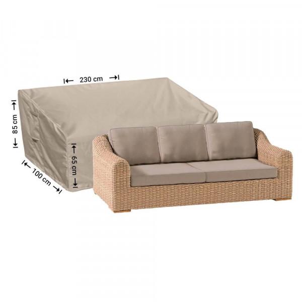 Wetterschutz für Terrasse Sofa 230 x 100 H: 85/65 cm