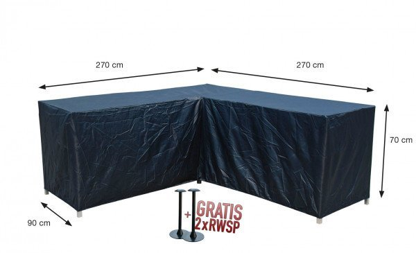 Schutzhülle Loungeset L 270 x 270 x 90 H:70 cm