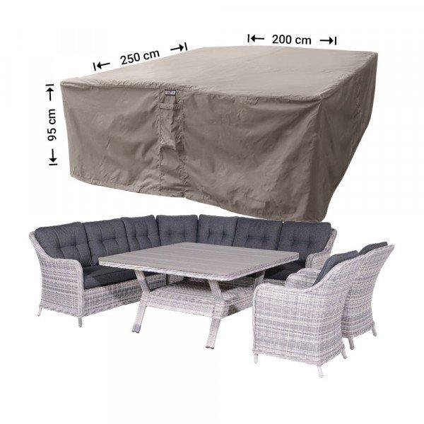 Schutzhülle für Rattan Lounge Gartenmöbeln 250 x 200 H: 95 cm