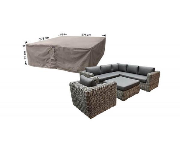 Schutzhaube für Garten-Lounge Garnitur 275 x 275 H: 70 cm