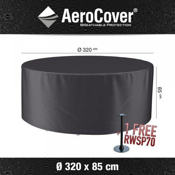 Schutzhaube für runden Tisch und Stühle XL Ø 320 cm H: 85 cm
