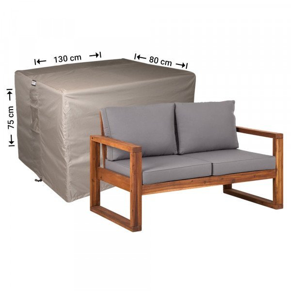 Gartenmöbel Abdeckhaube Loungebank 130 x 80 H: 75 cm