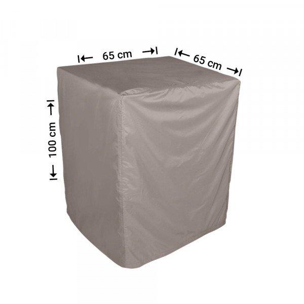 Quadratische Abdeckung 65 x 65 H: 100 cm