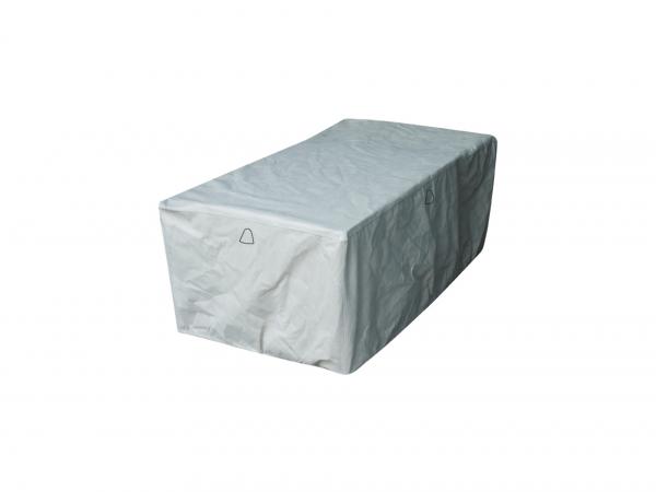 Schutzhülle für rechteckige Gartentisch 140 x 80 H: 75 cm