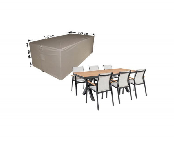 Gartenmöbel Hülle 190 x 140 H: 85 cm