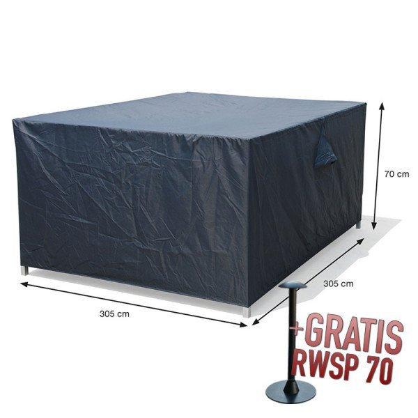 Lounge-Set-Hülle quadratisch 305 x 305 H:70 cm